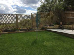 Trellis fencing farnham